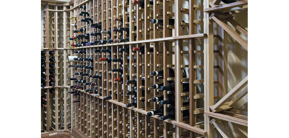 Lake Harriet MN Wine Cellar