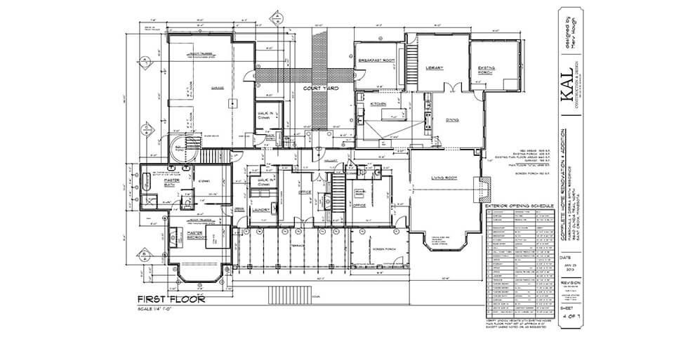 Kal Construction And Design Scandia Farm House